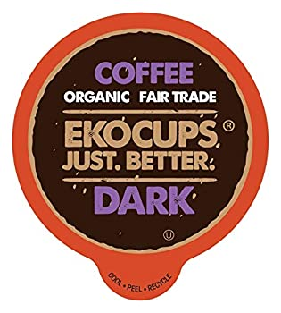 EKOCUPS Artisan Organic Dark Roast Coffee