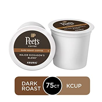 Peet's Coffee Major Dickason's Blend Dark Roast K-Cup Pods