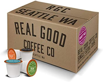 Real Good Coffee Co Variety Pack Recyclable Coffee Pods