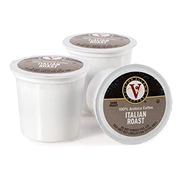 Victor Allen Italian Roast Single Serve Coffee Pods