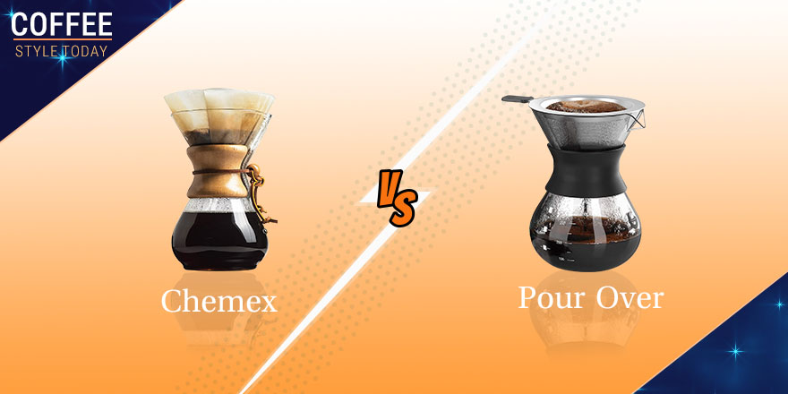 Chemex vs Pour Over – What Is Better Tasting and More Suitable For You?