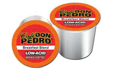 Cafe Don Pedro Variety Pack Arabica Low Acid Coffee Pods