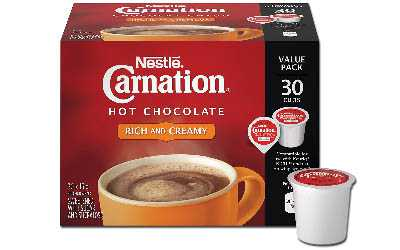 Carnation Rich Hot Chocolate K-Cup Pods