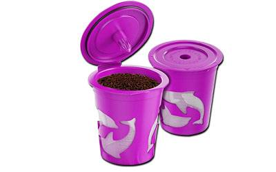 FROZ-CUP 2.0-4 Refillable/Reusable K Cups for Keurig