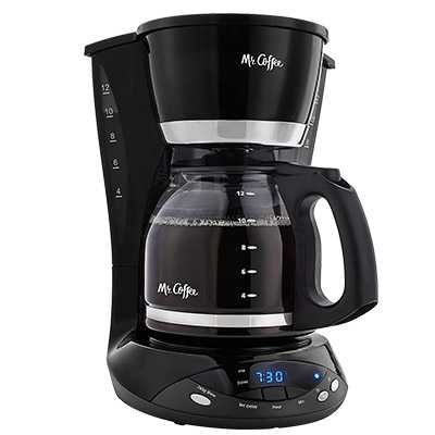 Mr. Coffee DWX23-RB 12-Cup Programmable Coffeemaker