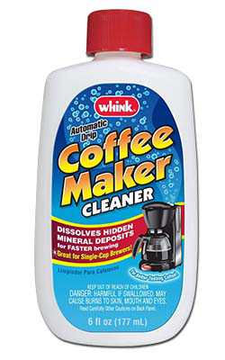 Whink Coffee Maker Cleaner