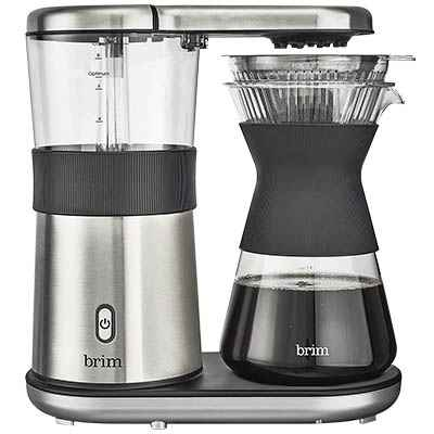 Brim 8 Cup Pour Over Coffee Maker