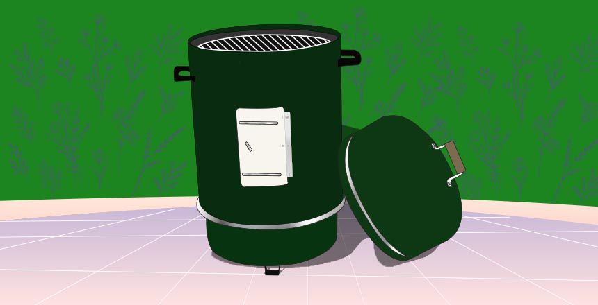 Ordinary Grill to DIY Barbecue Smoker
